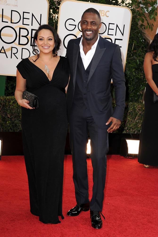 Idris Elba ai Golden Globes