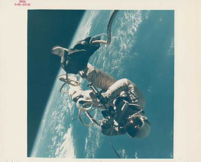 Camminare nello spazio