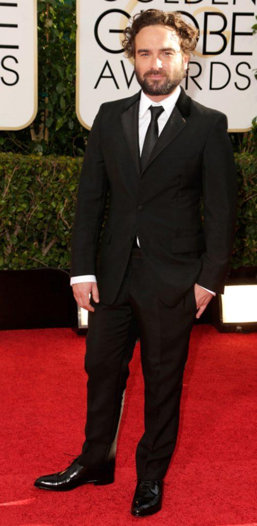 Johnny Galecki ai Golden Globes