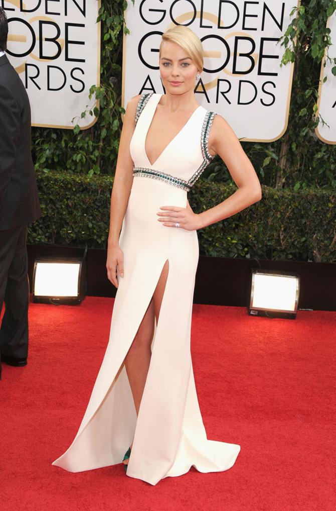 Margot Robbie ai Golden Globes
