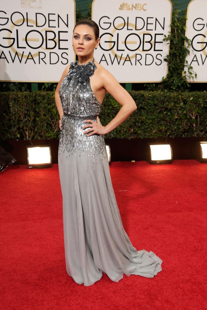 Mila Kunis ai Golden Globes