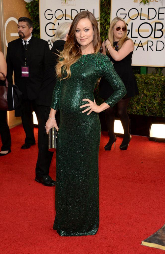 Olivia Wilde ai Golden Globes