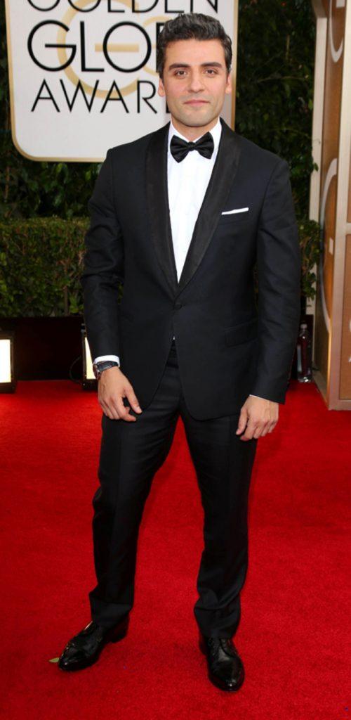 Oscar Isaac ai Golden Globes