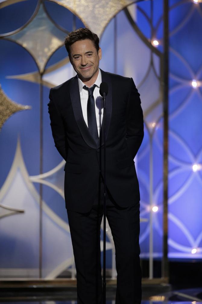 Robert Downey Jr. ai Golden Globes