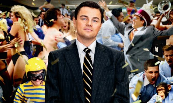 Arriva nelle sale italiane The Wolf of Wall Street