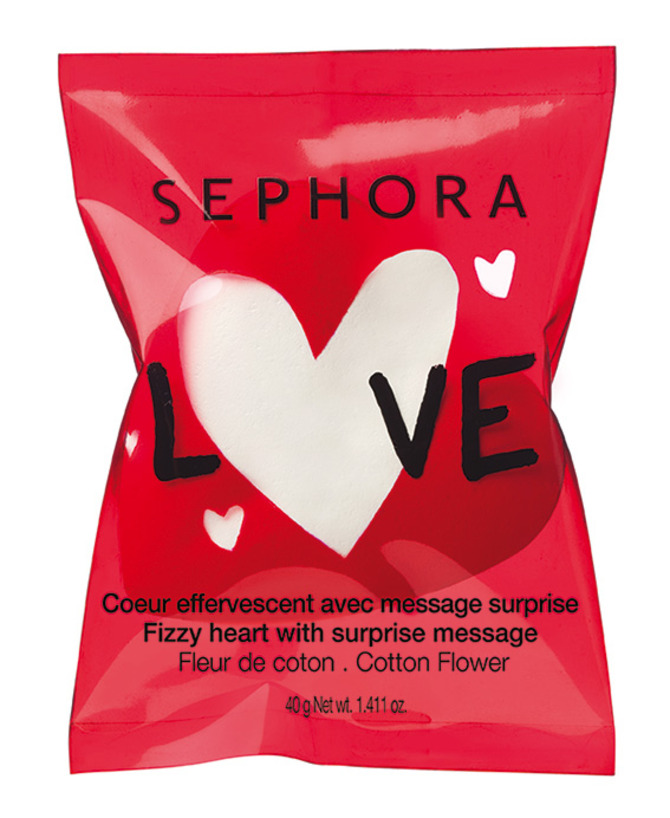 Fizzy Heart With Surprise Message di Sephora