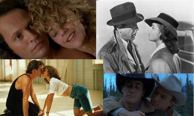 Le dieci più romantiche coppie cinematografiche