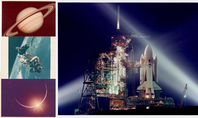 Venti anni nello spazio: in mostra gli archivi NASA