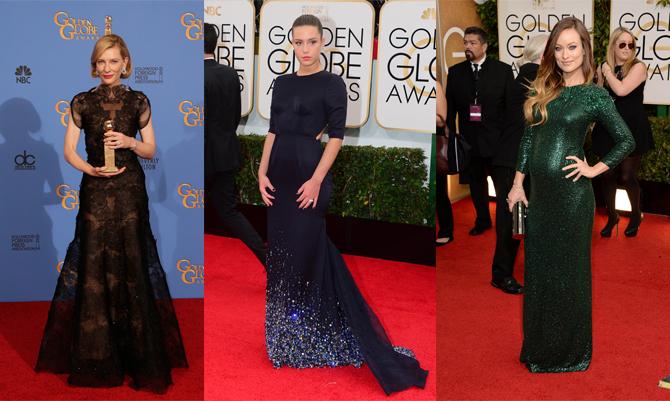 Golden Globes: i look da red carpet