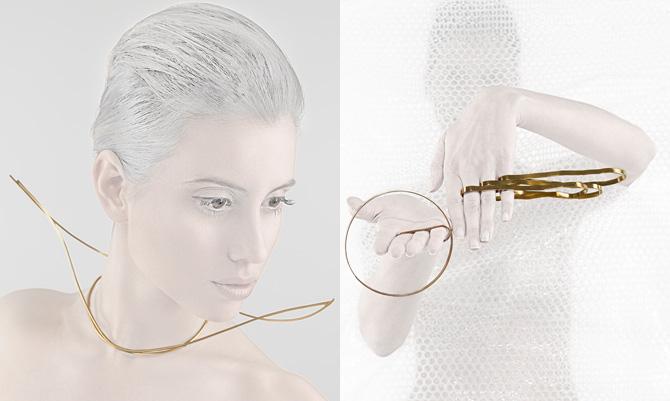 Dal futuroRemoto i gioielli di De Benedittis per Gattinoni