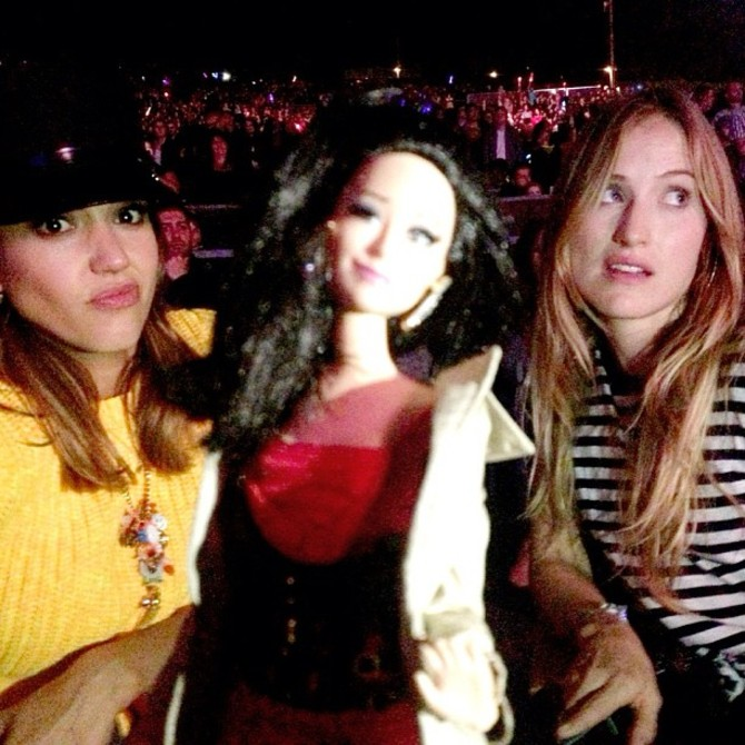 Barbie Birkin con Jessica Alba