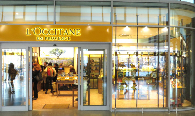 Nuovo store Occitane