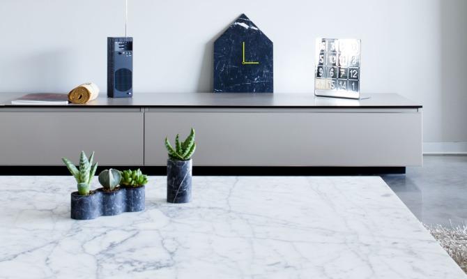 Oggetti di design plasmati dal marmo - Fiera oggettistica ...