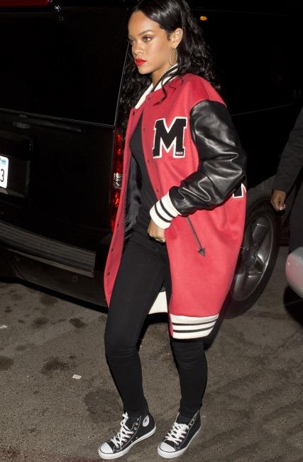 Rihanna androgina prima dei Grammy