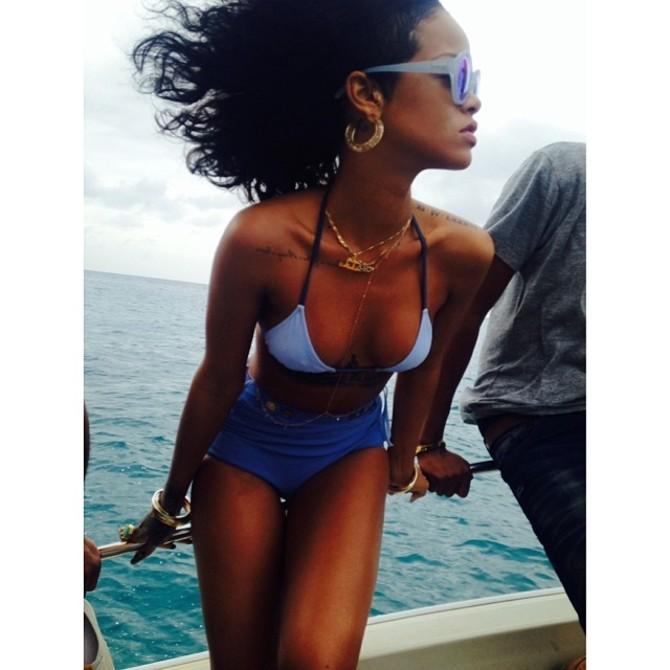 Rihanna in bikini