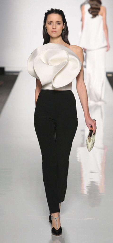 Top e pantaloni Sarli Couture