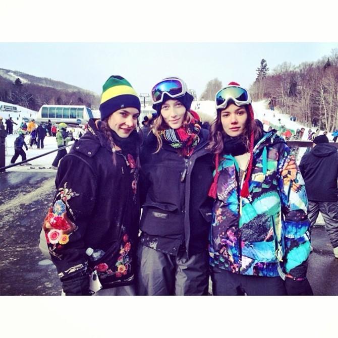 Sheila Marquez snowboard