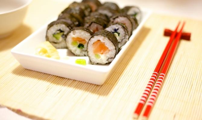 Sushi delle feste