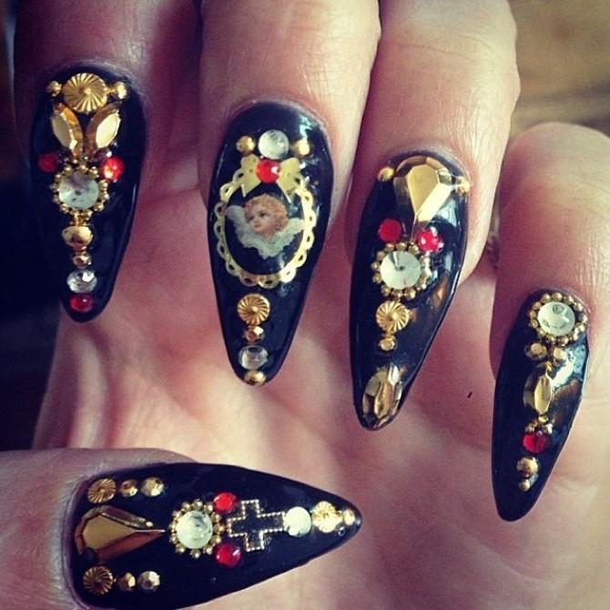 Nail art Vanessa Hudgens