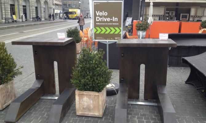 Zurigo, il caffè cycle-friendly che non spezza la corsa