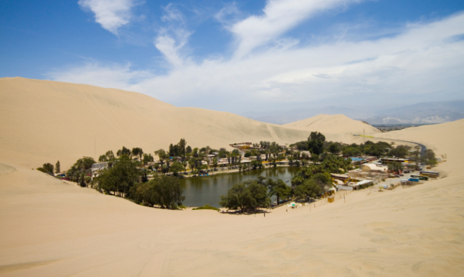 In vacanza nell'oasi: Huacachina