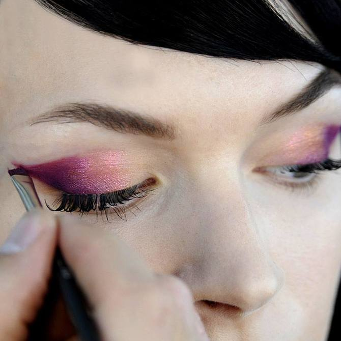 Make up occhi Jeremy Scott