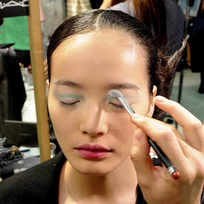 Make up occhi Antonio Marras