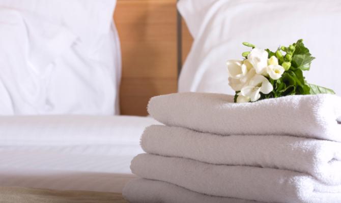 Asciugamano hotel