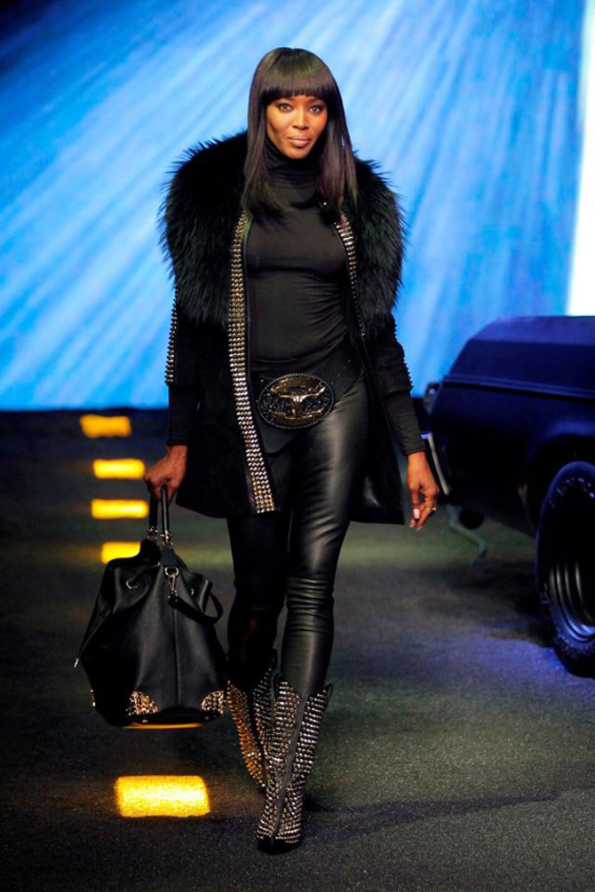 Naomi Campbell per Philipp Plein