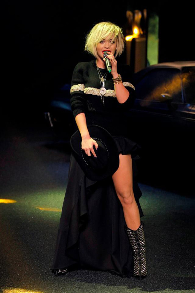 Rita Ora per Philipp Plein