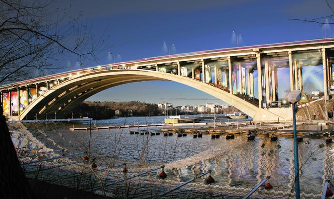 Area pedonale, spazio artistico, cinema: Under The Bridge