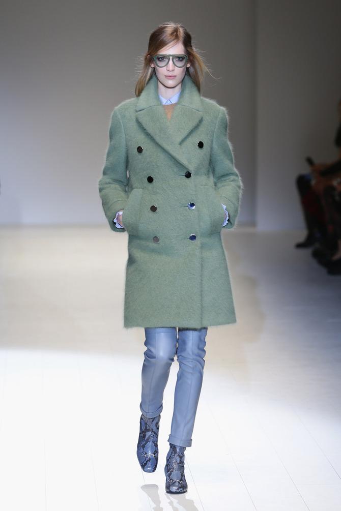 Cappotto e pantaloni Gucci