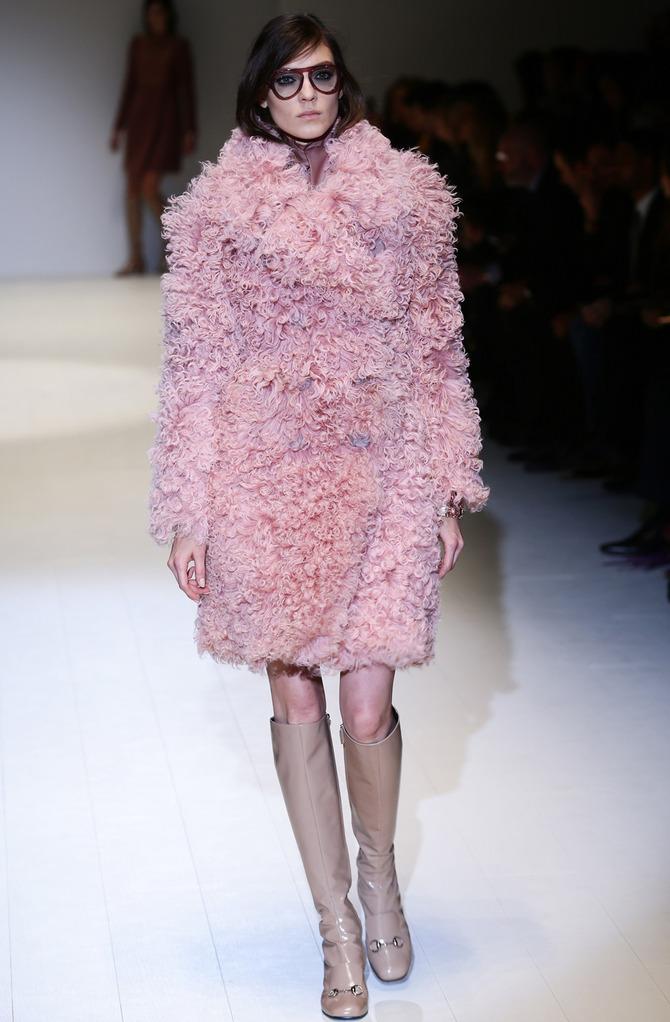 Giacca di pelliccia Gucci