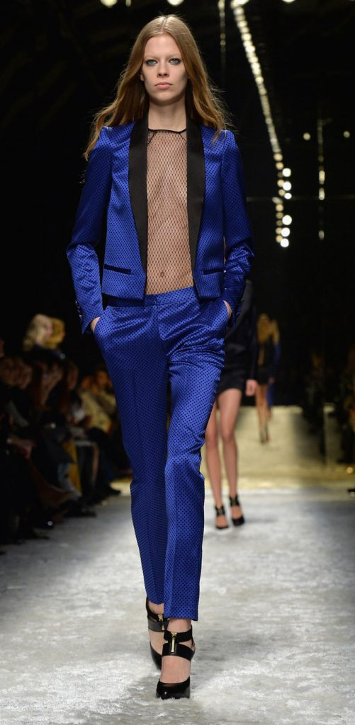 Blazer, blusa e pantaloni Blumarine