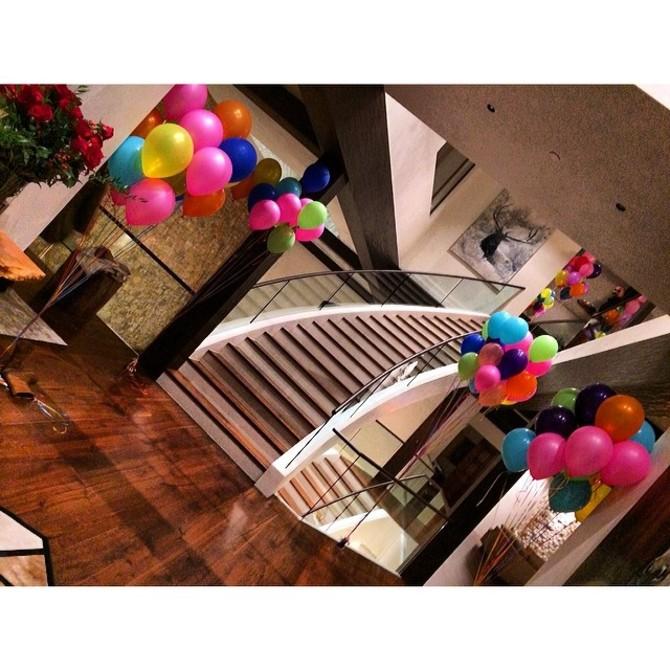 Villa compleanno Rihanna