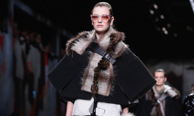 Militare e tecnologico: Karl Lagerfeld per Fendi
