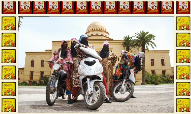 Gli angeli di Marrakesh, grinta su due ruote