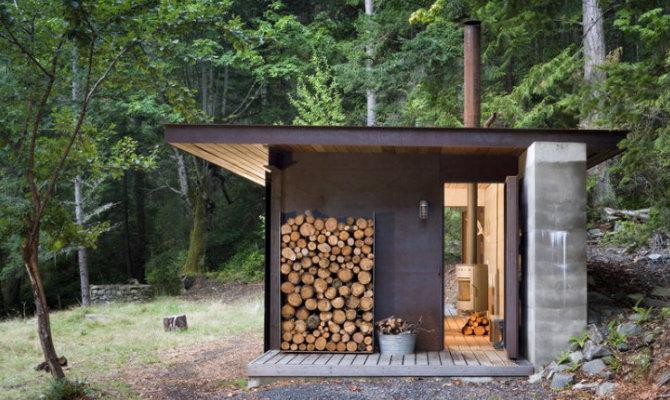 Il mini-rifugio solare nel bosco