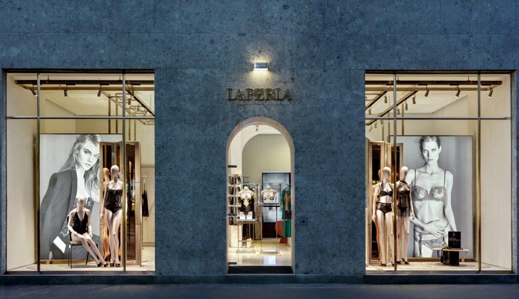 LaPerla boutique Milano 2014