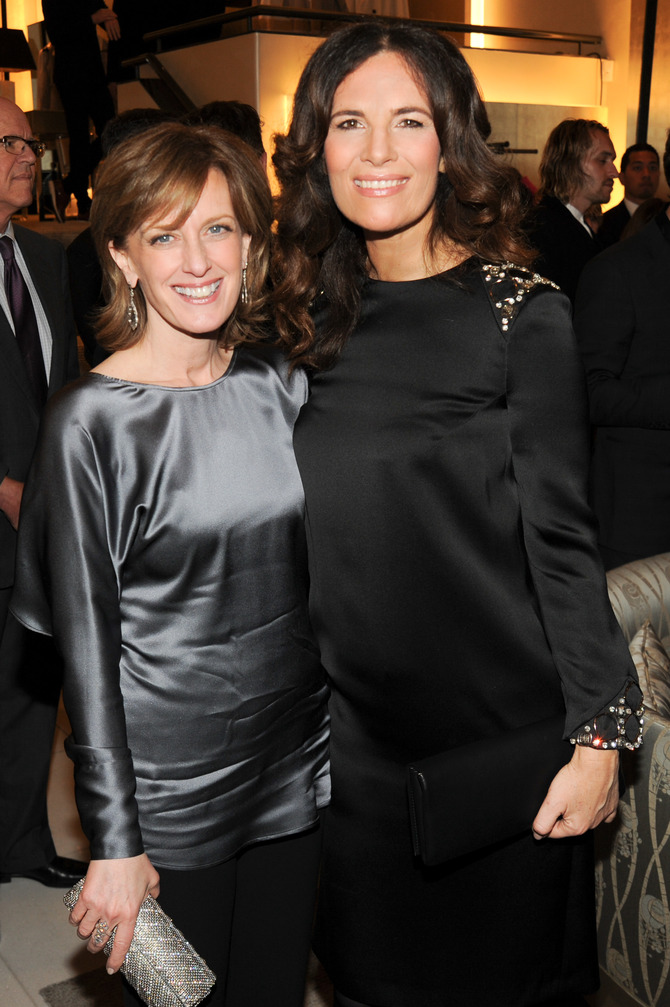 Anne Sweeney e Roberta Armani