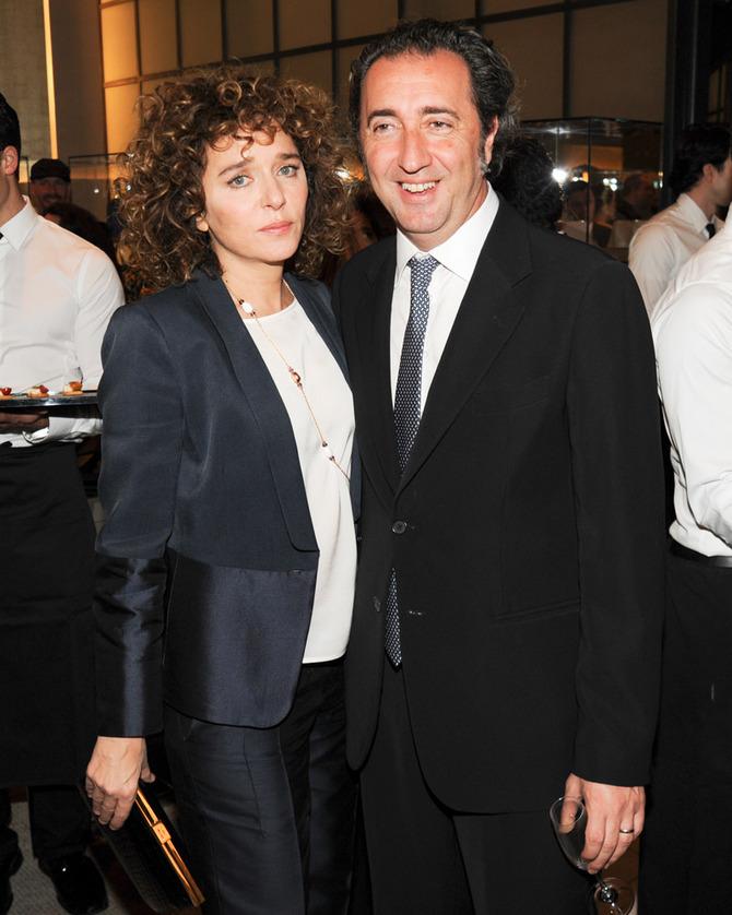 Valeria Golino e Paolo Sorrentino
