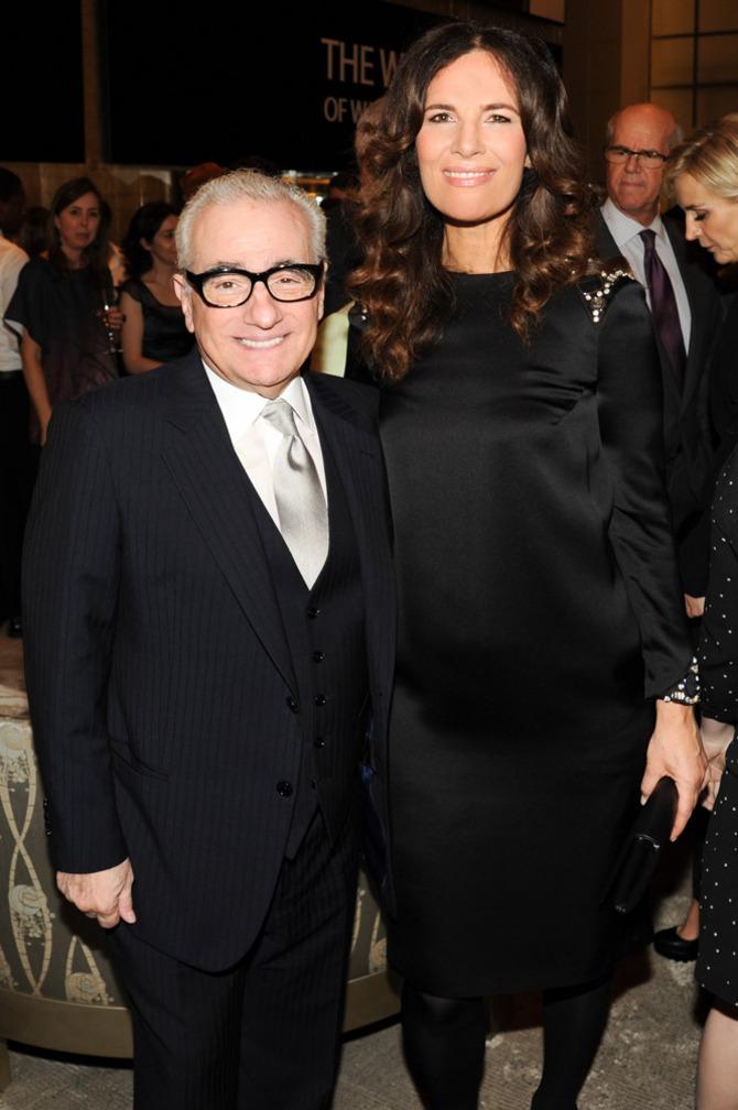 Martin Scorsese e Roberta Armani