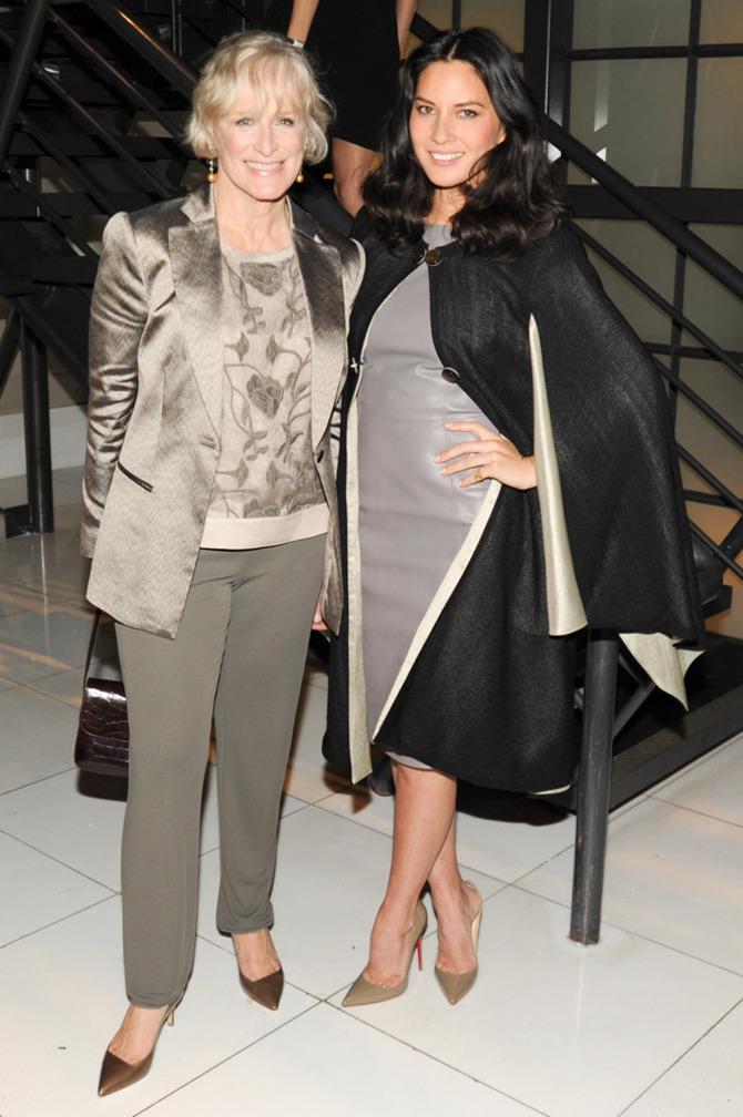 Glenn Close e Olivia Munn