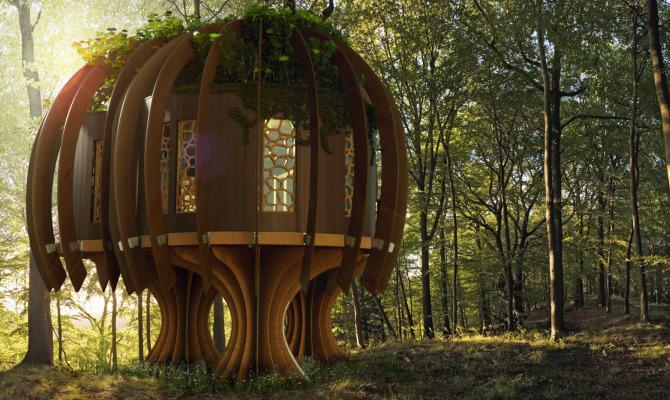 Quiet Treehouse, la casa dove non esiste il rumore