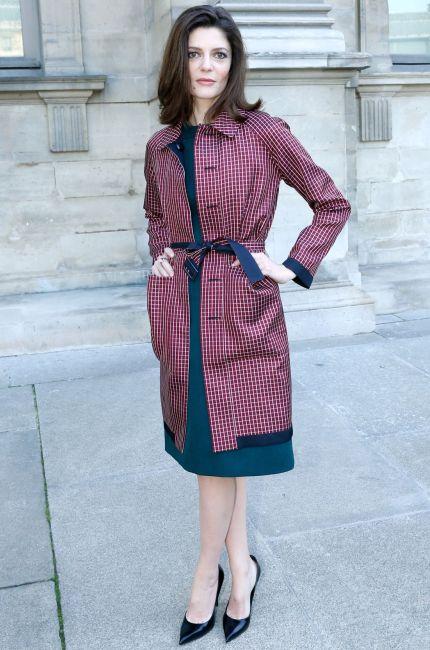 Chiara Mastroianni in Louis Vuitton