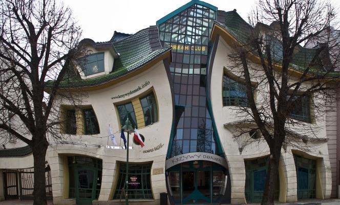 Le forme pazze delle case nel mondo