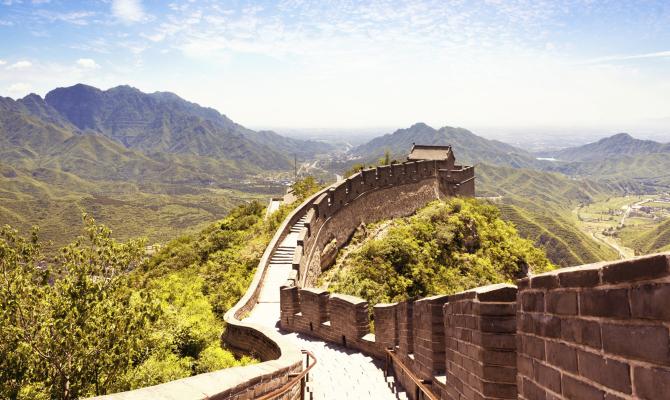 Tempo di graffiti sulla Grande Muraglia Cinese