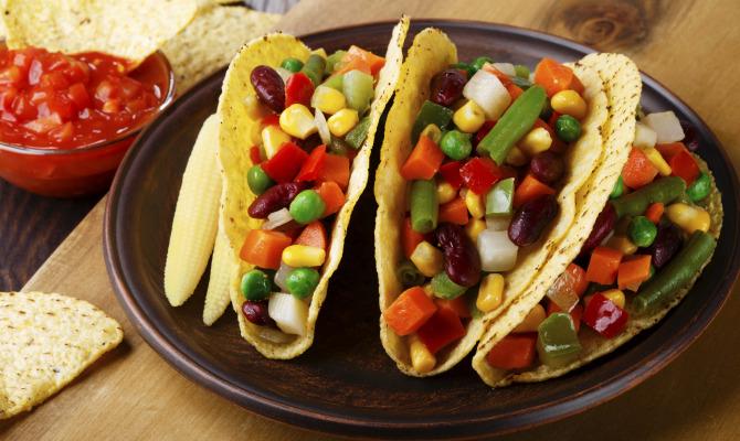 I tacos messicani si presentano in versione cruelty free