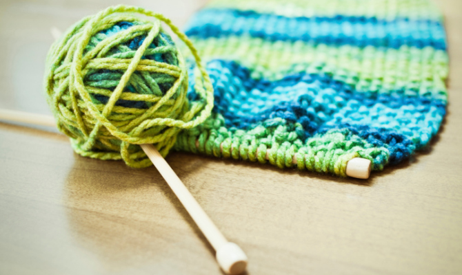 Knitting, un potente antistress