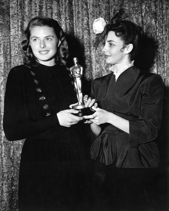 Ingrid Bergman e Jennifer Jones